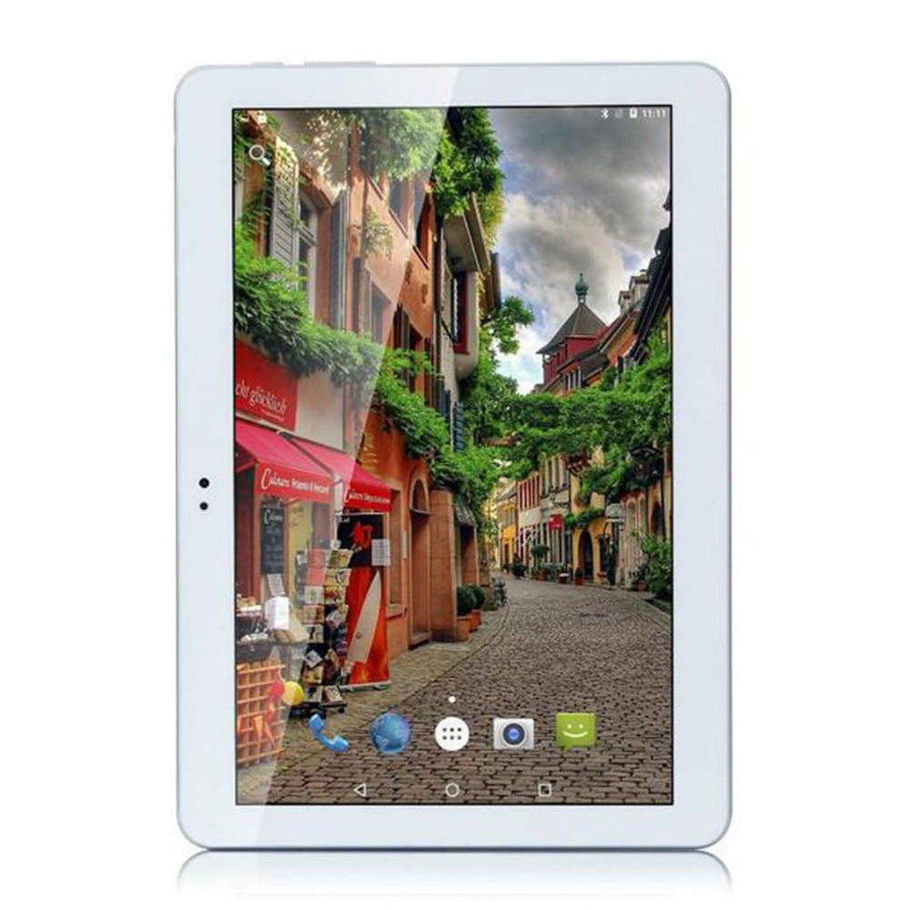 10.1 inch Dual SIM 3G Calling Tablet PC Octa Core Android 6.0 4GB RAM 64GB ROM 2.4GHz and 5GHz Phablet EU Plug