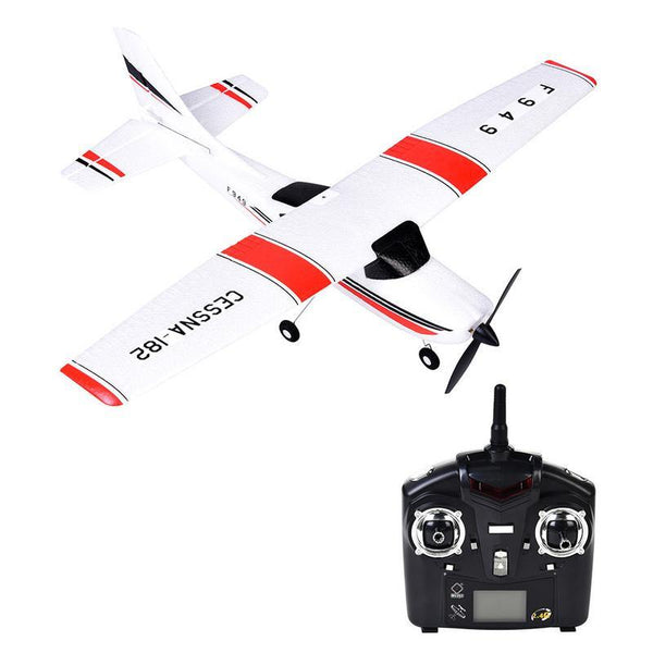 WL Toys F949 RC Toy 2.4 G Airplane Aircraft Model Three-channel Gliders with Server Fixed Wing (Built-in USB Batterty)