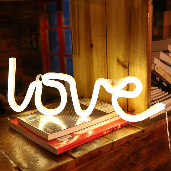 LED Neon Light Wall Hanging for Festival Party Wedding Decoration