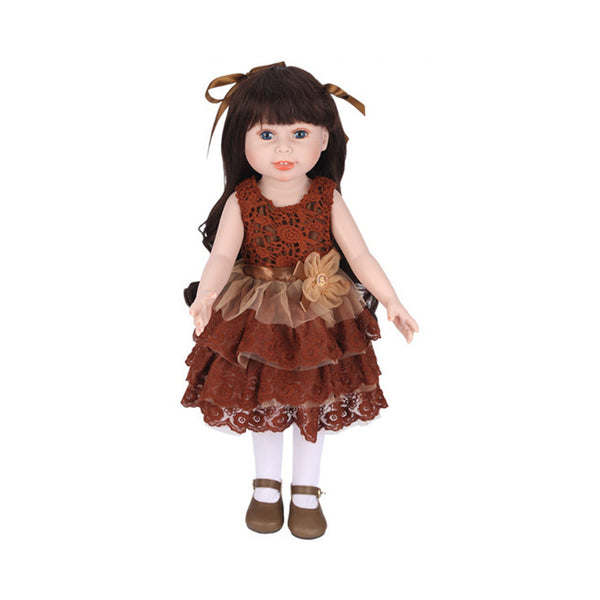 Girl Doll Baby Doll Realistic Reborn Dolls Toy With Beautiful Clothes And Shoes