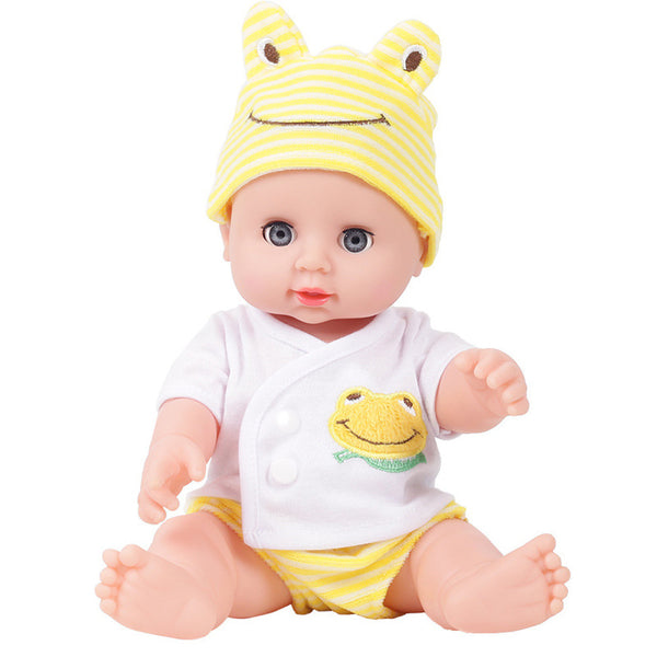 Emulated Blink Doll Soft Children Reborn Baby Doll Toys Boy Girl Birthday Gift
