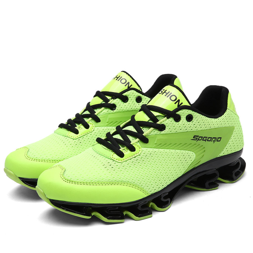 Fashion Men Breathable Hip Hop Cool Blade Sole Sport Sneakers Running Shoes