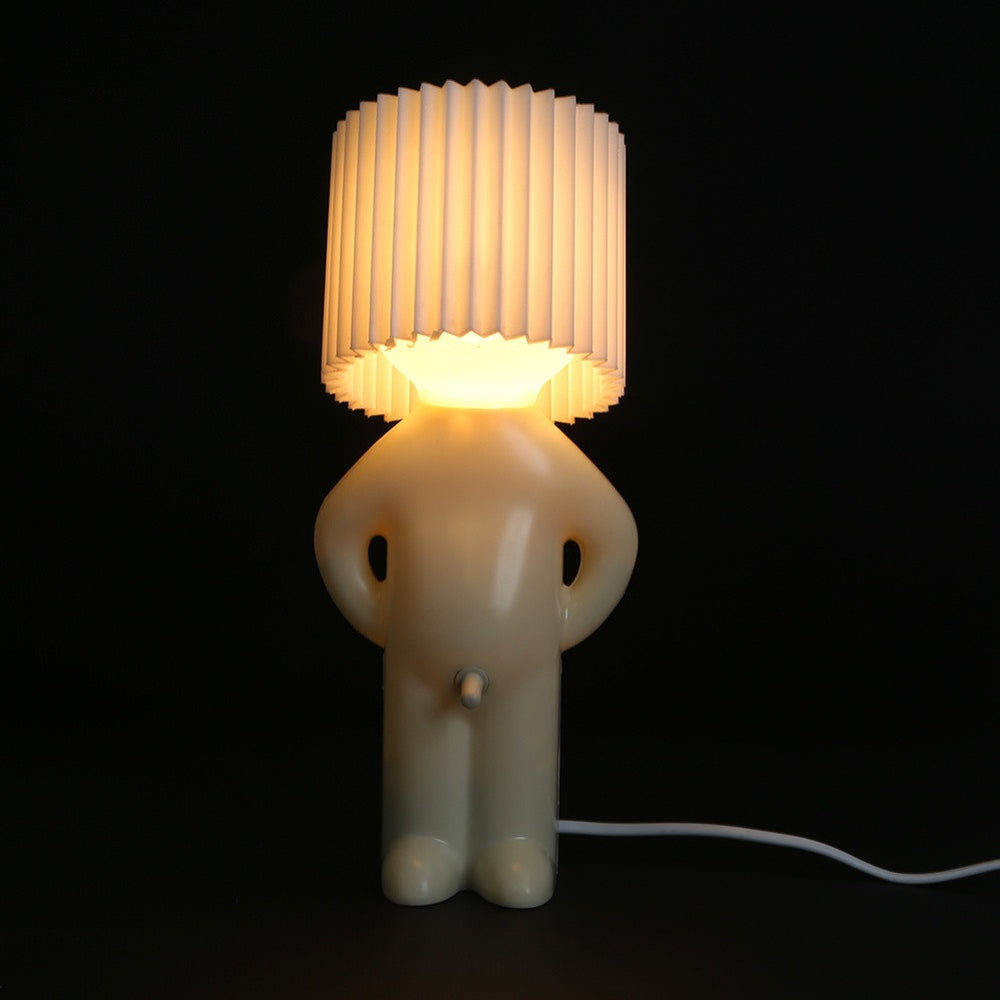 Led Night Lights Table Lamp Desktop Light  Shy Man Small  Home Decoration Night Light EU Plug