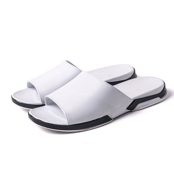 Casual Beach Breathable Men  Slipper Sandals Summer Home Flat Flip Flops Shoes