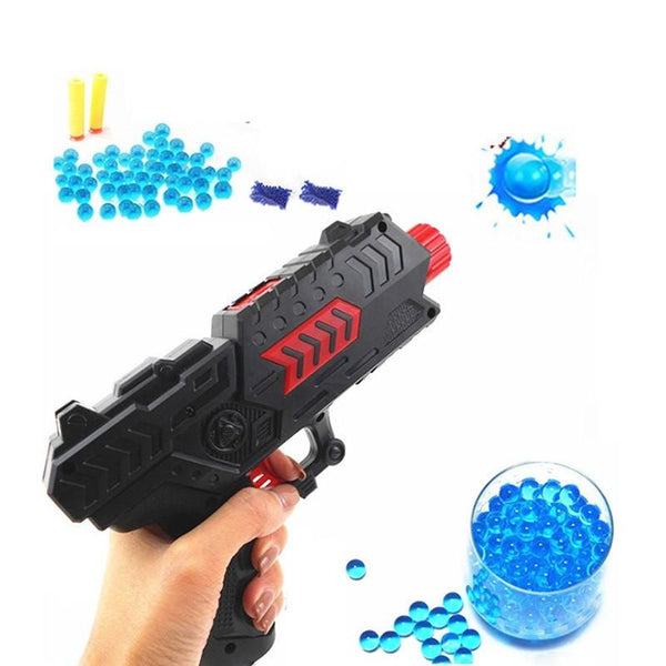 2 in 1 Children Water Crystal Paintball   Soft Bullet Gun Toy Pistol Toy Game Toy Random Color