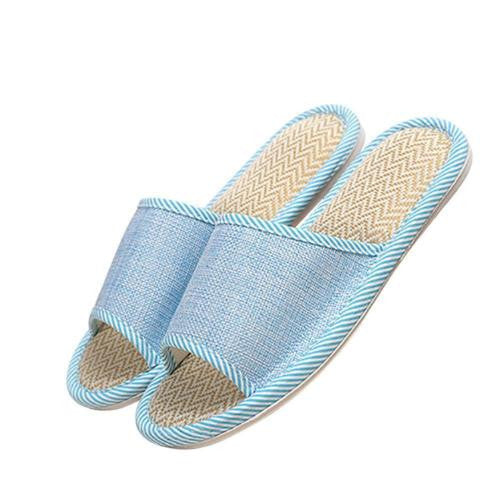 Women Men Home Indoor Slipper Open Toe House Flat Slippers