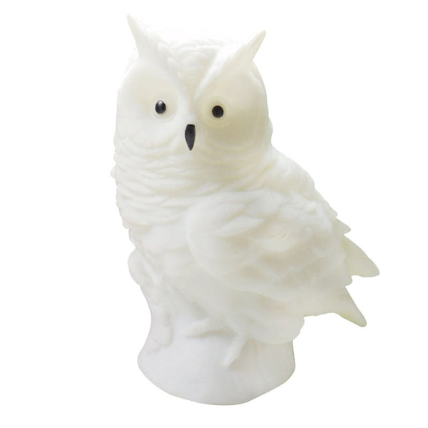 Cartoon Animal Owl LED Night Light Home Decoration Kids Gift Lights Luminous Toys Bedroom Decor