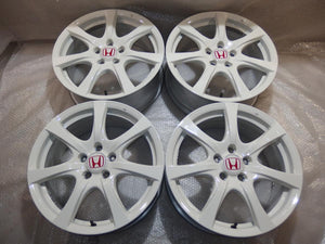 "FD2 Type R OEM 18"" Wheels (Championship White)"