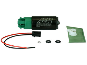 AEM E85 High Flow In-Tank Fuel Pump - (65mm w/Hooks Offset Inlet) - Universal