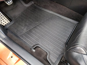2002/06 Acura RSX OEM All-Weather Rubber Mats (DISCONTINUED)