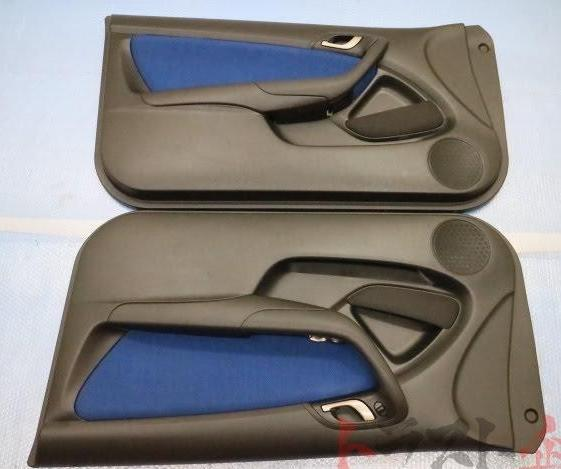 DC5 Type R OEM Door Panels (Red/Blue/Black)