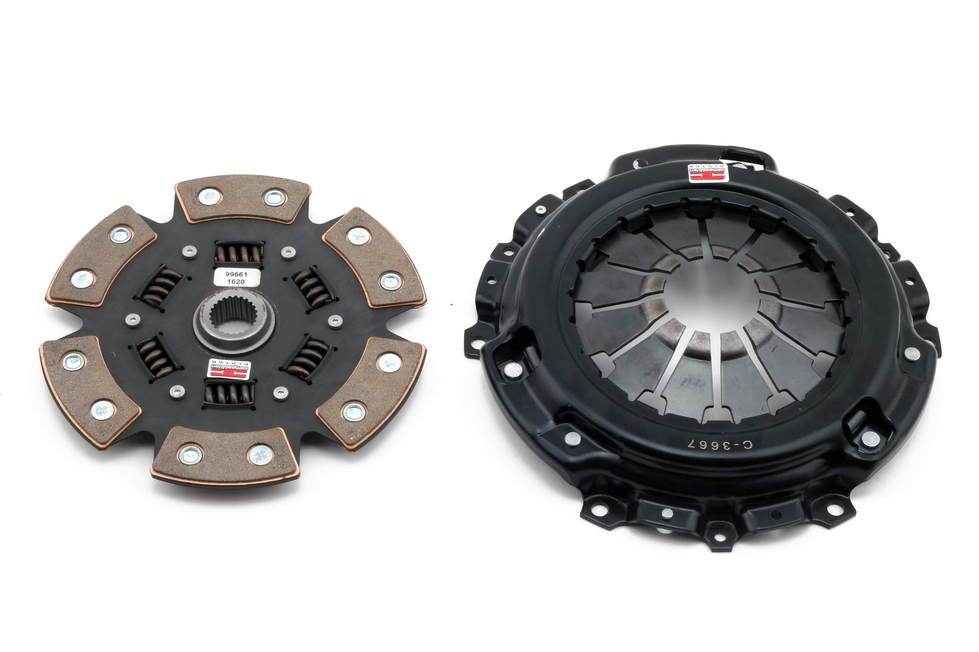 Competition Clutch - Stage 4 Ceramic Sprung Clutch Kit