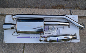 Invidia Q300 Cat-back Exhaust (2002/06 RSX Type S)