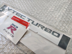 "FK8 Civic Type R OEM ""VTEC TURBO"" Decal"