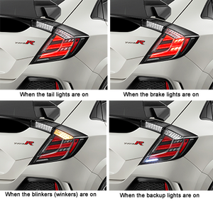 Mugen LED Tail Lights - 2016+ Civic