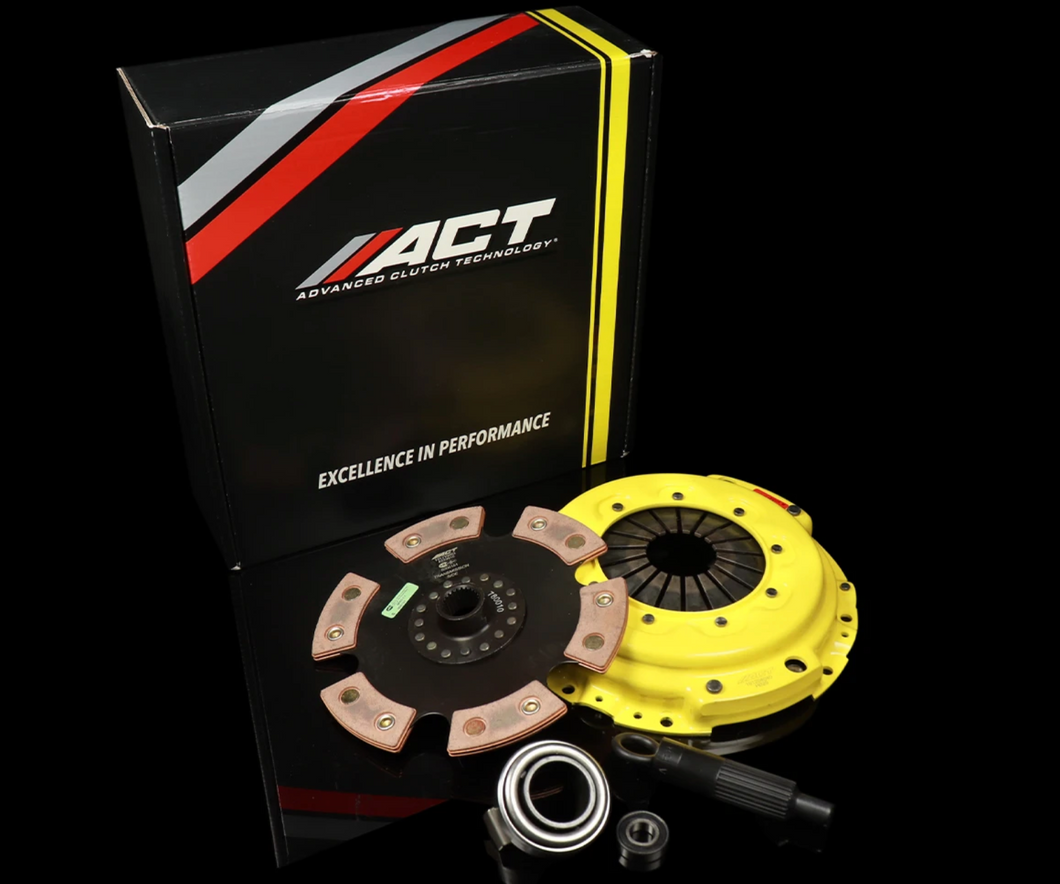 ACT Heavy Duty Clutch Kit w/Unsprung 6 Puck Disc - 92/93 Integra (Cable Trans)