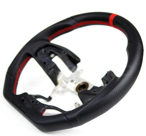 Buddy Club Racing Spec Steering Wheel - 2016+ Civic (Leather/Carbon)