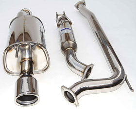 Invidia Q300 Cat-back Exhaust - Polished/Titanium (2006/11 Civic Si)