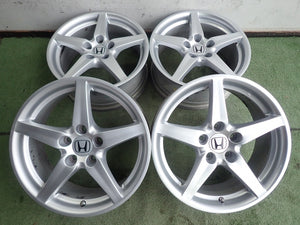 "Honda Integra Type S OEM 17"" Wheels (Silver)"