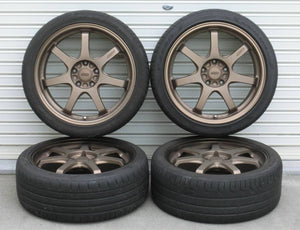 "Authentic Mugen GP 18"" Wheels (Bronze)"