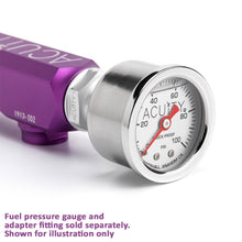 Acuity K-Series Fuel Rail - Satin Purple Finish