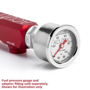 Acuity K-Series Fuel Rail - Satin Red Finish