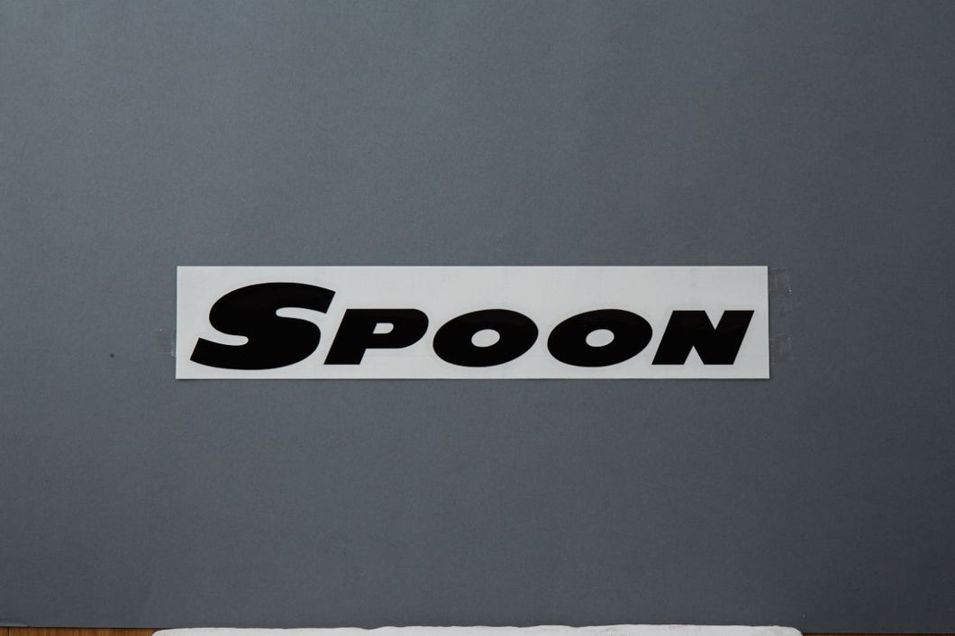Spoon Sports Team Decal