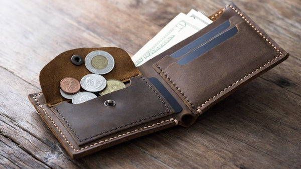 A picture of a Wallet with Money