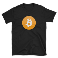 Bitcoin Large Logo T-Shirt-Crypto Daddy