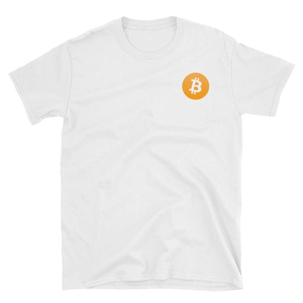 Bitcoin Small Logo T-Shirt-Crypto Daddy