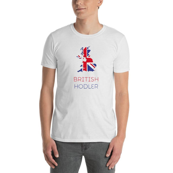British Hodler T-Shirt - blockchain t-shirt, to the moon t-shirt, hard fork cafe