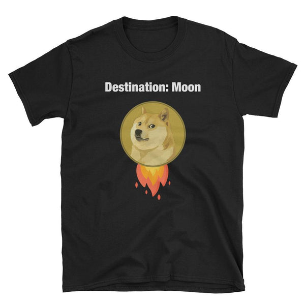 Dogecoin Destination: Moon T-Shirt-Crypto Daddy