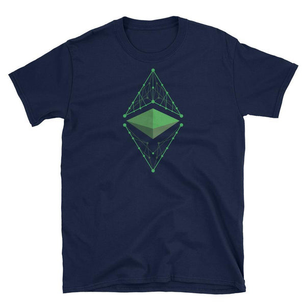 Ethereum Classic Logo T-Shirt-Crypto Daddy
