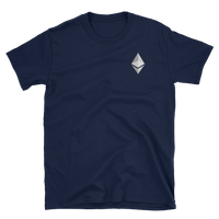 Ethereum Small Logo T-Shirt-Crypto Daddy