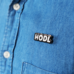 Hodl Pin Collectible - blockchain t-shirt, to the moon t-shirt, hard fork cafe