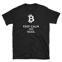 Keep Calm and Hodl T-Shirt-Crypto Daddy