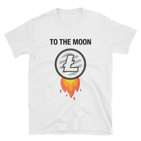 Litecoin To the Moon T-Shirt-Crypto Daddy