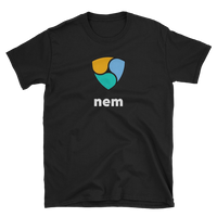 NEM Large Logo T-Shirt-Crypto Daddy