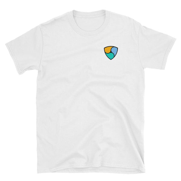 NEM Small Logo T-Shirt-Crypto Daddy
