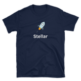 Stellar Large Logo T-Shirt-Crypto Daddy