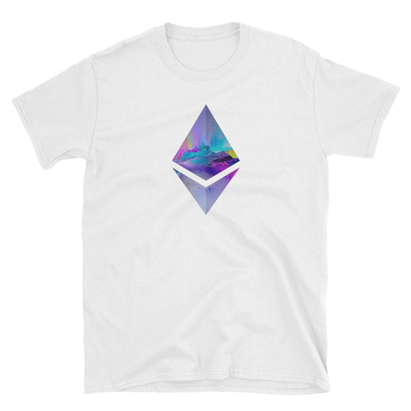 Vibrant Ethereum Unisex T-Shirt - blockchain t-shirt, to the moon t-shirt, hard fork cafe