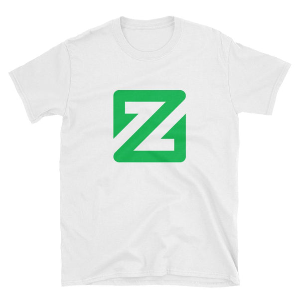 Zcoin Large Logo T-Shirt-Crypto Daddy
