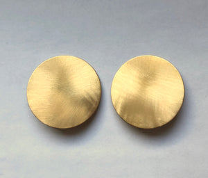 Brushed Brass Studs