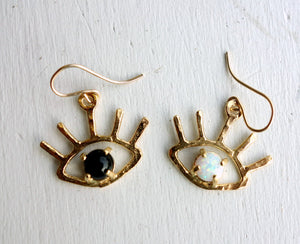 Mismatched Eye Earrings