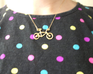 Brass Bike Pendant