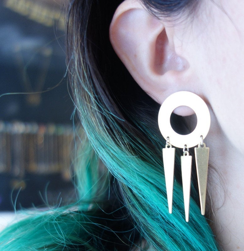 Neo Dream Catcher Stud Dangles
