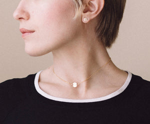 Gold Dot Choker