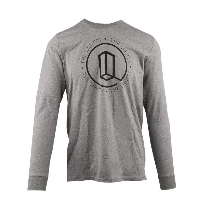 Unisex - Lights L/S Icon Tee - Athletic Grey
