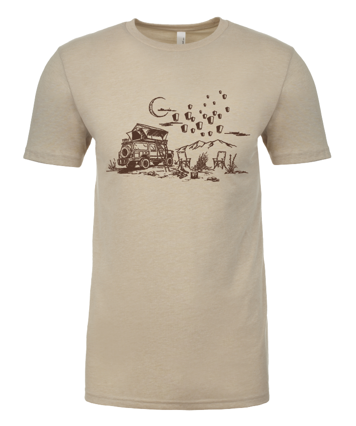 Lights Camping T-shirt