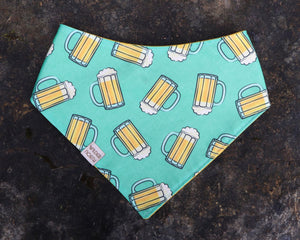 Teal Beer Bandana
